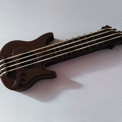 Download free 3D printing templates Guitarz - Tunable and Playble Mini Guitars, ChristopheJolly