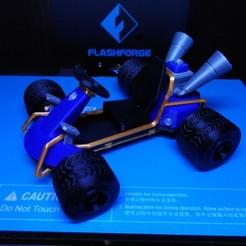 Download free 3D printing models CTR Kart - Crash Bandicoot, ChristopheJolly