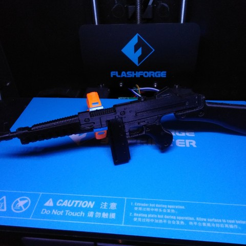 Download free 3D printer model Wolfenstein The New Order SMG, ChristopheJolly