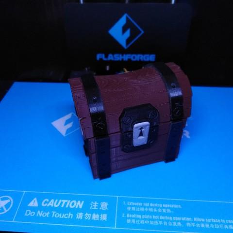 Free 3D printer model Fortnite Chest , ChristopheJolly