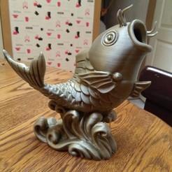 Free 3D printer files big fish, Sidkick