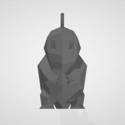 Télécharger fichier imprimante 3D gratuit keychain squirtle / Porte-clef carapuce, nathan2004