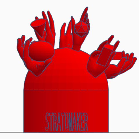 Screen Shot 2017-12-29 at 2.42.19 pm.png Download free STL file Stratomaker mascot • Model to 3D print, isabellagrant001