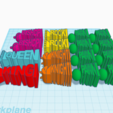Screen Shot 2017-12-29 at 5.40.16 pm.png Download STL file Unique Chess Set • 3D printing object, isabellagrant001
