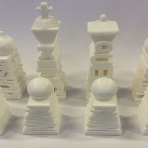 FLXXMAFIPOC3MTZ.MEDIUM.jpg Download STL file Unique Chess Set • 3D printing object, isabellagrant001