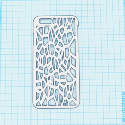 3D print model iPhone 6 case, isabellagrant001