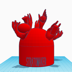 Download free 3D printing templates Stratomaker mascot, isabellagrant001