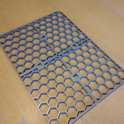 3D print model Letter box grating, chauxbar