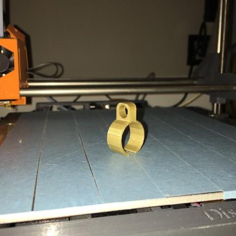 Télécharger fichier imprimante 3D gratuit Bague - cigarette, mikit36