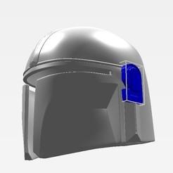 Descargar modelos 3D para imprimir The Mandalorian Helmet, QueenV