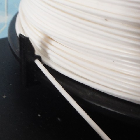DSCF1117.JPG Download free STL file Filament clip • 3D printing template, Papy_Boum