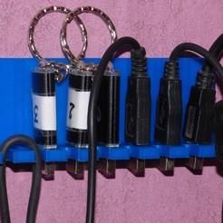 archivos stl PUERTA Y CABLE USB USB CLAVE gratis, plume66