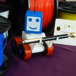 Download free 3D printing models STRATO THE ROBOT, plume66