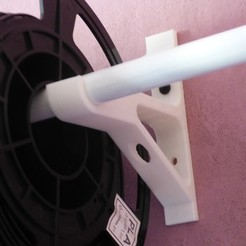 Free 3d printer designs roll holder, plume66