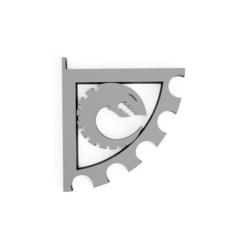 better_nid_shelf.png Télécharger fichier STL Support de tablette Xenos • Plan pour impression 3D, Myst