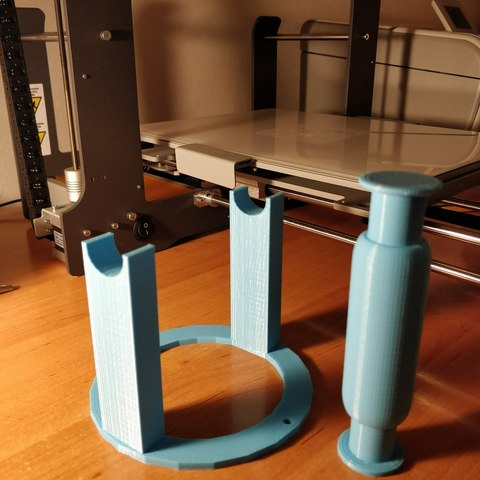 Free STL file Support for filament roll, killercito