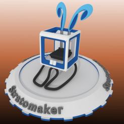 Free Stratomaker-Bunny #STRATOMAKER 3D model, Printminime