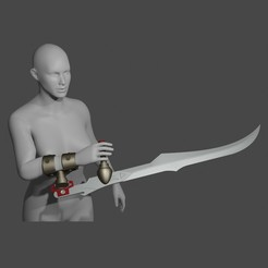 3333655.jpg Télécharger fichier STL bloodrayne rayne blade cosplay • Modèle pour imprimante 3D, geck