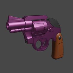 Download 3D print files Jojo Mista gun revolver Bizarre Adventure for printing, geck