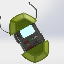 Descargar modelo 3D Turtlecom from Teenage Mutant Ninja Turtles 1987 3d print model, geck