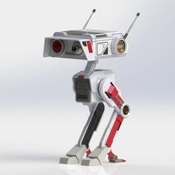 Impresiones 3D BD-1 bd1 droide star wars jedi fallen order- 3d model stl 3d print, geck