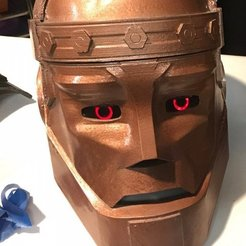 3D print model Robotman mask +arm + sholder, geck