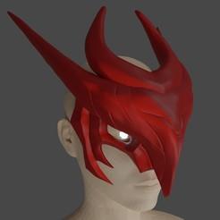 OkfJPfmzTKo.jpg Download STL file YONE face mask cosplay League of Legends LOL Cosplay printing 3D print model • 3D print design, geck