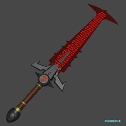 Download STL files DOOM Eternal Sword , geck
