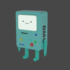 Download 3D printing models Bmo from adventure time for 3d print, geck