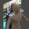 Download STL Robotman mask +arm + sholder, geck