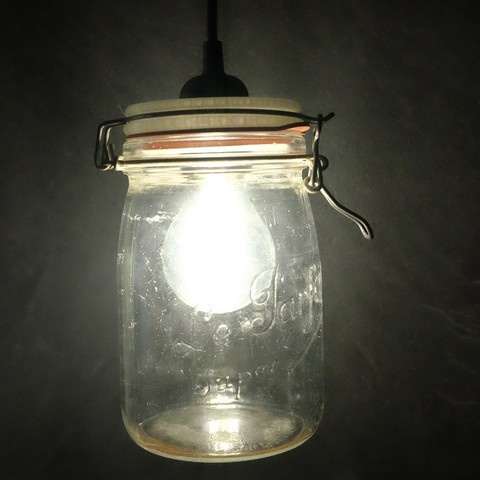 Fichier STL gratuit Luminaire à l'aide d'un bocal type « Le Parfait »., Altocumulus