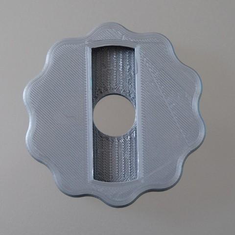 plan 3d gratuit bouton de robinet pour radiateur ancien en. Black Bedroom Furniture Sets. Home Design Ideas