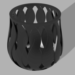 WiadOSZRPy.png Download STL file Candle jar • 3D printing template, grew