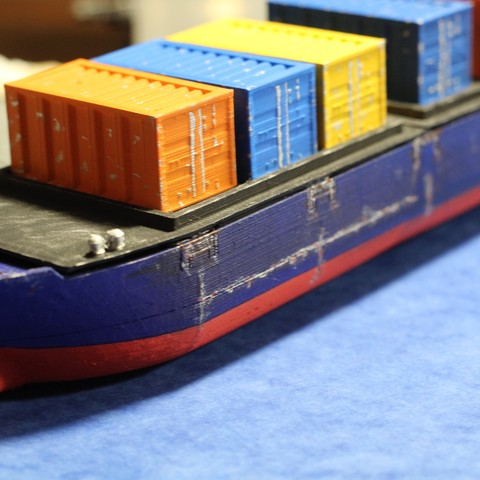 IMG_8475.JPG Download STL file Cargo Ship - Marauda • 3D printer object, MasterFuba