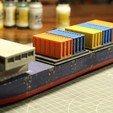 IMG_8466.JPG Download STL file Cargo Ship - Marauda • 3D printer object, MasterFuba