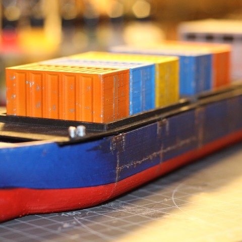 Cargo Ship Marauda_1.JPG Download STL file Cargo Ship - Marauda • 3D printer object, MasterFuba