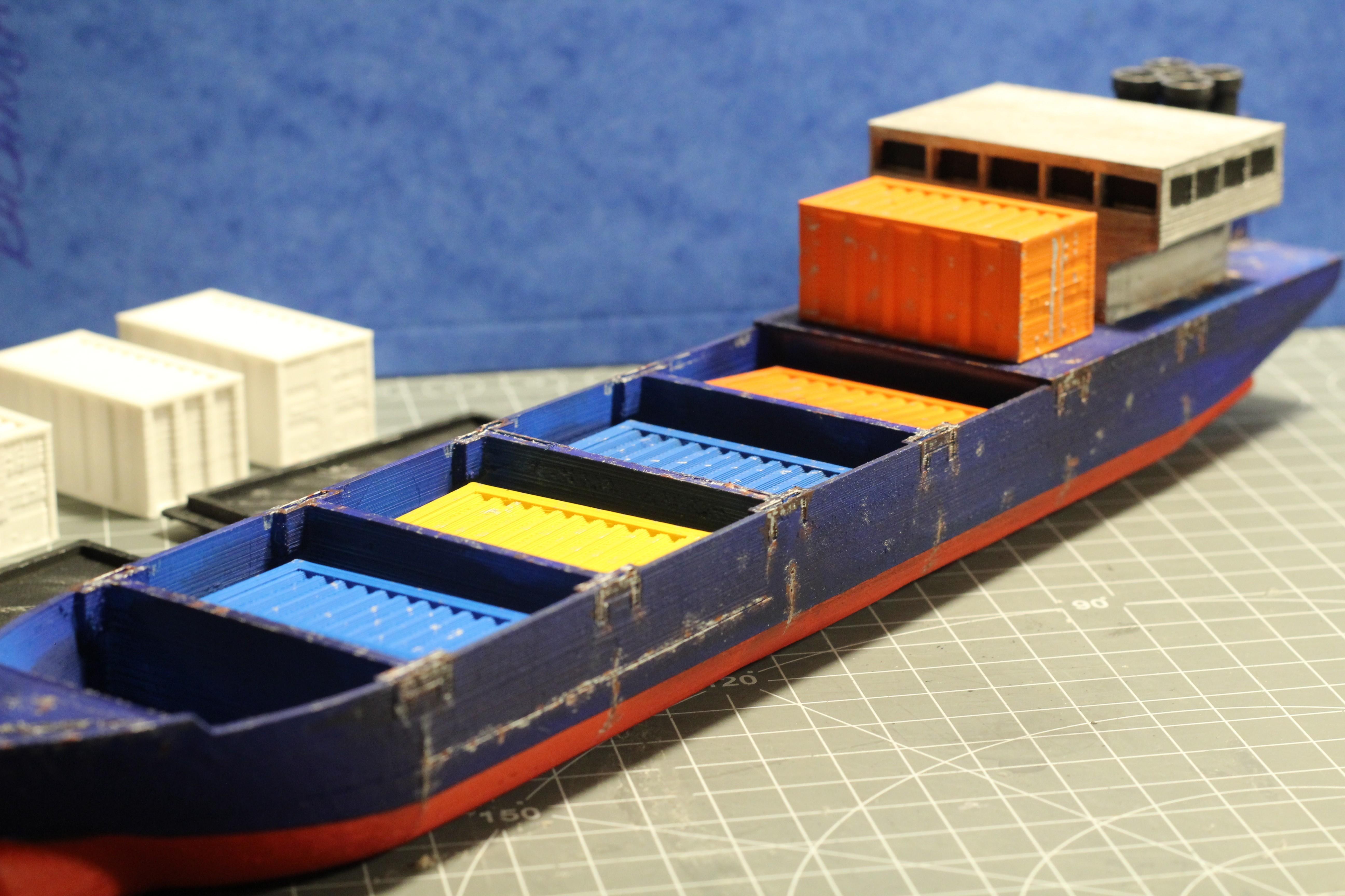IMG_8482.JPG Download STL file Cargo Ship - Marauda • 3D printer object, MasterFuba