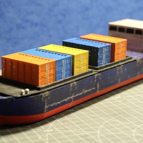 IMG_8472.JPG Download STL file Cargo Ship - Marauda • 3D printer object, MasterFuba
