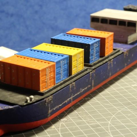 IMG_8481.JPG Download STL file Cargo Ship - Marauda • 3D printer object, MasterFuba