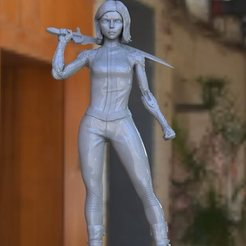 Download 3D print files alita battle angel, paulienet
