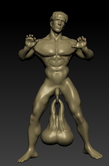 Screenshot_5 (2).png Download OBJ file Bang my balls door knocker • 3D print design, paulienet