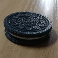 Download free 3D printing files oreo cookie model, wooooo