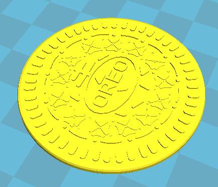 2.png Download free STL file Oreo cookie • 3D printer template, wooooo