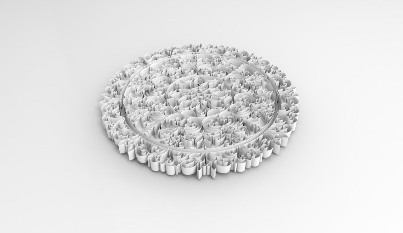 3p.jpg Download STL file 3d panel • 3D printer template, saeedpeyda