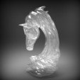 asbmarpich2.jpg Download OBJ file horse art statue • 3D printable object, saeedpeyda