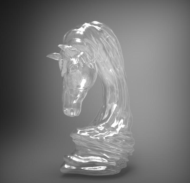 asbmarpich1.jpg Download OBJ file horse art statue • 3D printable object, saeedpeyda
