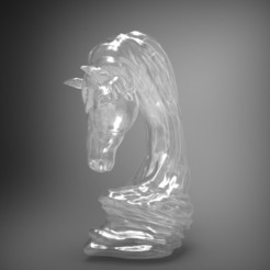 asbmarpich1.jpg Download OBJ file horse art statue • 3D printable object, saeedpeyda