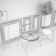 Download 3D printing templates art chair, saeedpeyda