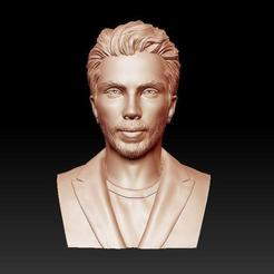 3D printing model young man 5, saeedpeyda