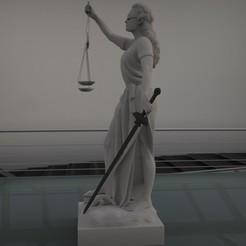 STL file justice woman, saeedpeyda